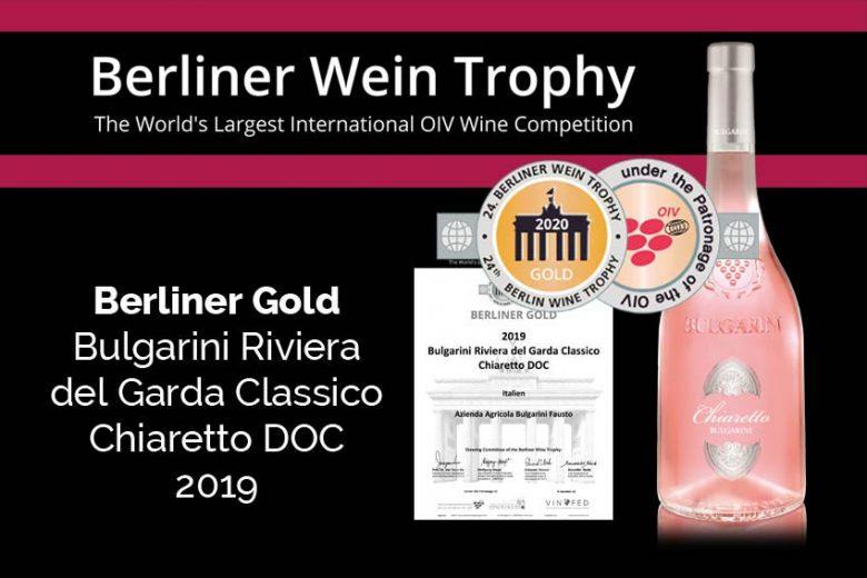 News Bulgarini Berliner Wein Trophy Chiaretto 2019